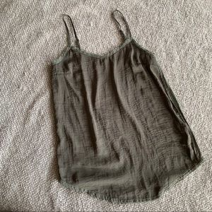 Who What Wear Olive Green Tank